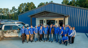 Roofmasters Employees Group Photo